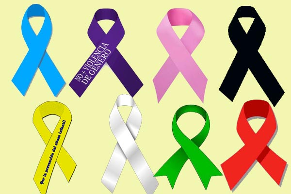 Image Result For Cancer Ribbon Colors