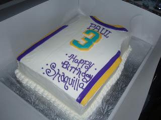 Sugarbakers Cake Design Basketball Jersey Cake