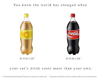 Your car's drink costs more than your own