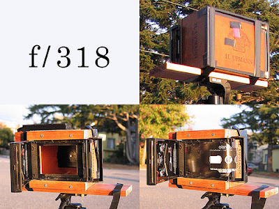 Cigar box pinhole camera