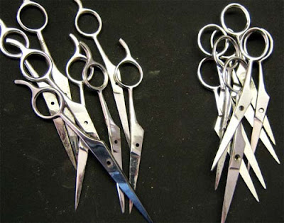 Sculptures Created From Scissors (14) 4