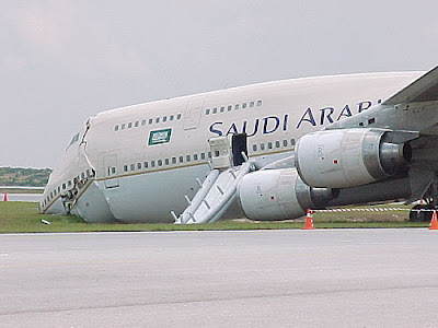 this airliner looks like from Saudi gone the wrong way 1