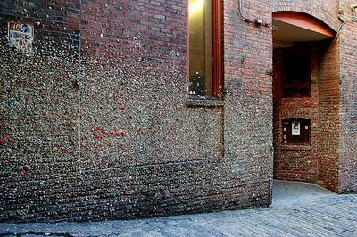 Gum Wall, Post Alley, Seattle (7) 5