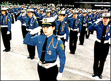 Korean Lady Police Officers. 2