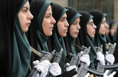 Iranian Female Police Cadets 1