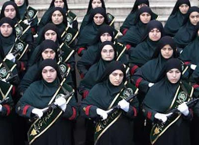Iranian Female Police Cadets 2