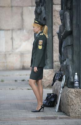 Ukranian Patrolwoman.