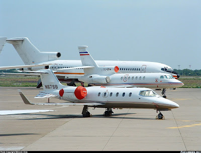 Serbia's presidential plane