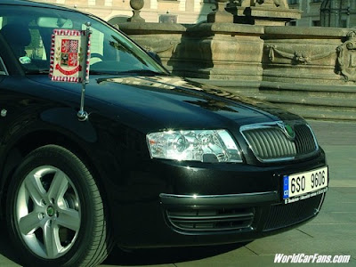 Official State Car of The president Czech Republic