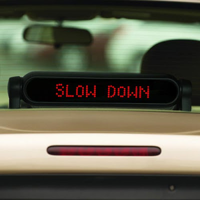 Scrolling Light Digital Message System for Cars (2) 2