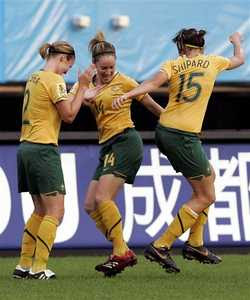 Australia women's football (soccer) team 1