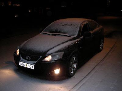 frozen Lexus