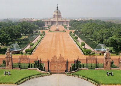 Presidential Palace in India (3) 1