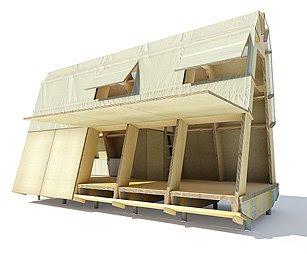 The cardboard house. 1