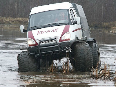 Cars designed to run in mud (7) 1