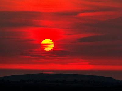 Amazing sky & sun