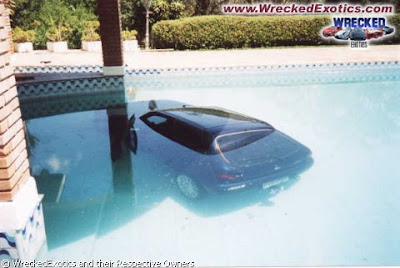 Car Gone For Swim (7) 7