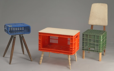 furniture  few created with a plastic boxes (3) 1
