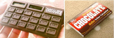 Choculator = Chocolate + Calculator 2