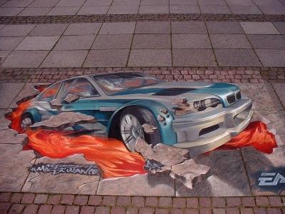 3D Street Paintings (21) 5