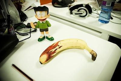F?aming Banana