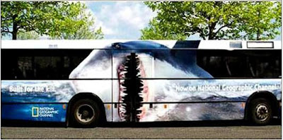 Painted Bus For National Geographic Channel (2)  2