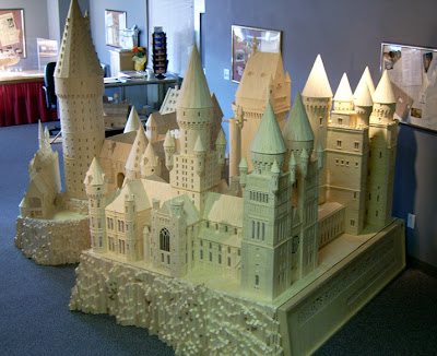 Matchstick Marvel of Harry Potter's Hogwarts 3