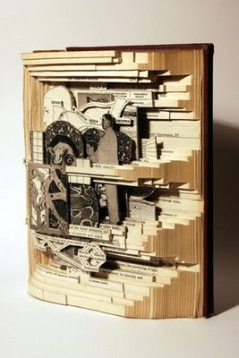 Cool Ways To Reuse Old Books (9) 4