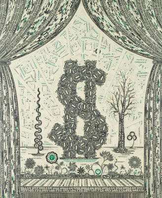 U.S. Dollar Bills Art (12) 4