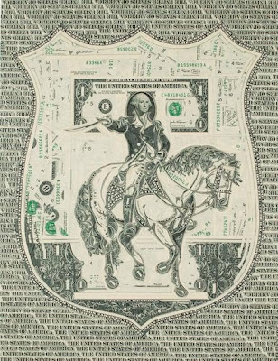 U.S. Dollar Bills Art (12) 2