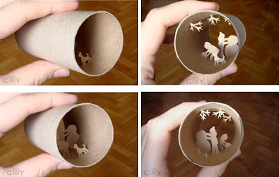 Artwork Created Inside The Toilet Paper Rolls (15) 1