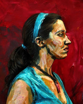 Acrylic Paint on People (10) 3