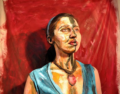 Acrylic Paint on People (10) 1