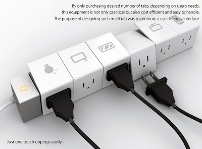 Cool Creative and Modern Extension Cords and Powerstrips (30) 12