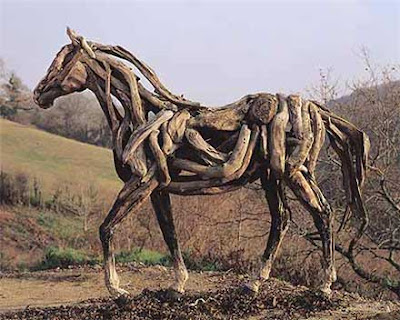 Driftwood Horse Art (14) 14