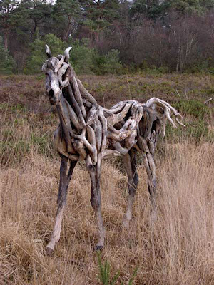 Driftwood Horse Art (14) 9