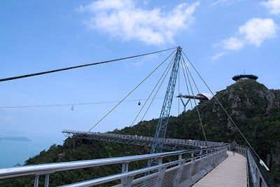Interesting Pedestrian Bridge - Pulau Langkawi, Sky Bridge (6) 3