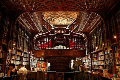 The Lello bookstore in Porto, Portugal