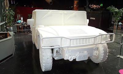 Styrofoam Hummer