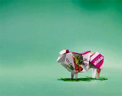 Clever and Creative Origami Advertisements (15) 6