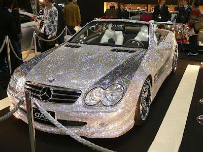 Mercedes-Benz SL 600 worth about a $1 million