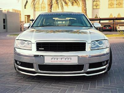 MTM's Audi A8 D3 polished (3) 1