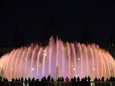Montjuic's Magic Fountain (11) 8