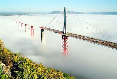 The Tallest Vehicular Bridge In The World - The Millau Viaduct (11) 1