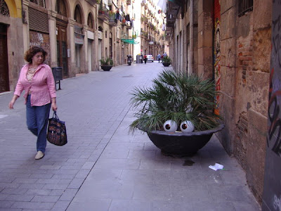 Street Art Installations - Human Plants (5) 4
