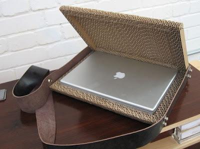Cardboard Laptop Case