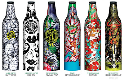 Mountain Dew Limited Edition: Green Label Art 2008 (4) 1