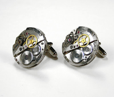 Handmade Luxury Designer Watch Cufflinks (9)  5