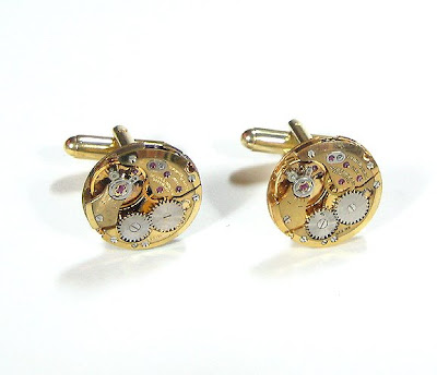 Handmade Luxury Designer Watch Cufflinks (9)  6