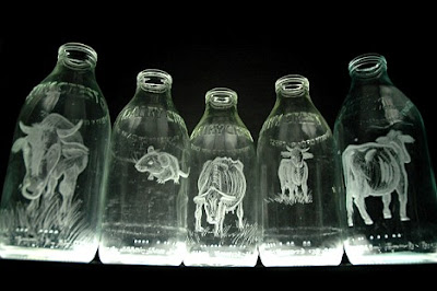 Milk Bottle Art (9) 4